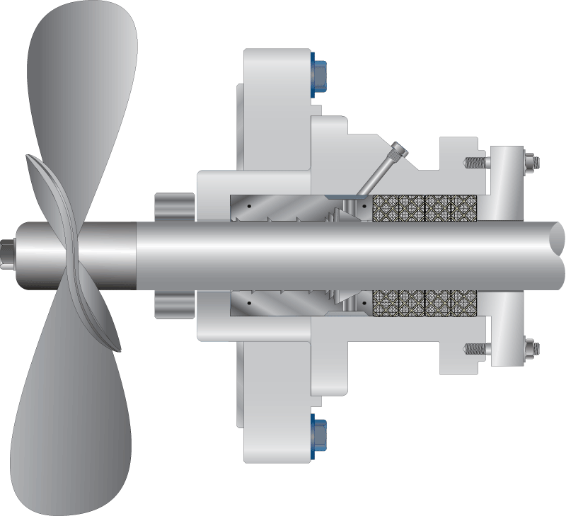 shaft support illustration