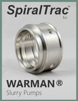 spiraltrac™ for warman® slurry pumps cover