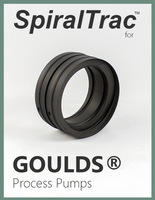 spiraltrac™ for goulds® 3175 & 3196 process pumps cover