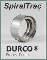 spiraltrac™ for durco® process pumps cover
