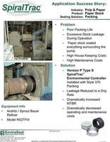 st version p with style 370 packing in the pulp & paper industry cover