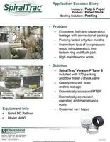 st version p with 370 packing and flow meter in the pulp & paper industry cover